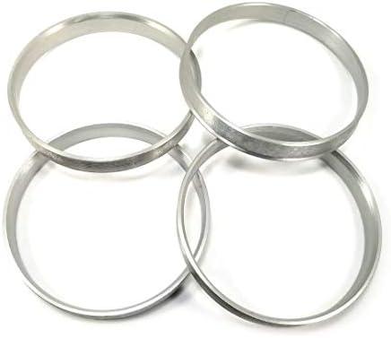Excalibur Wheel Accessories HCR210M-4 Hub Centric Rings 70.30mm Hub to 74.10mm Rim Aluminum (4-Pack) / Excalibur Wheel Accessories HCR210M-4 Hub Centric Rings 70.30mm Hub to 74.10mm Rim Aluminum (4-Pack)