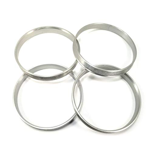 4x Centering Ring 63.4/mm to 56.1/mm Transparent