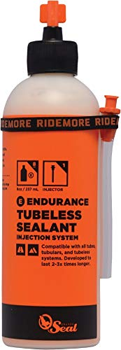 Orange Seal Endurance Tire Sealant w/Injection, 8 oz (Tubular Mountain Bike Tire)