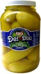 Del-Dixi Dill Pickles 1 Gal 12-16 count