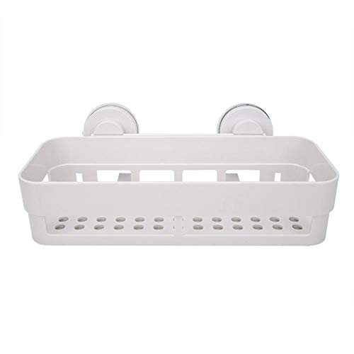- Famus Bathroom Shelf Wall Hanging Punch-Free Suction Cup Storage Basket Toilet Kitchen Storage Rack
