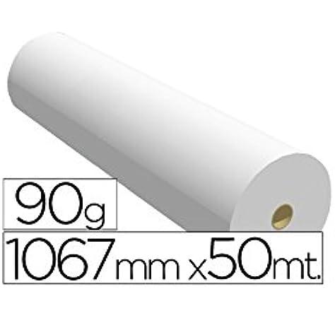 Navigator 1067X50 90 - Papel reprografía para plotter, 1067 mm x 50 m: Amazon.es: Oficina y papelería