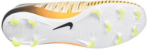 Homme Victory Orange NIKE de VI Black Volt Mercurial FG Chaussures Orange White Football Laser q8x80wHS