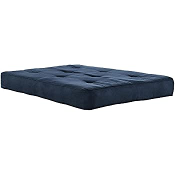 Medium image of dhp 8 inch independently encased coil futon mattress with certipur us certified foam