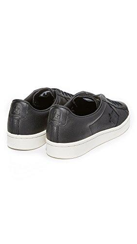 Converse Mens Pro Cuir 76 Baskets Noir / Noir / Aigrette