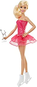 Barbie Careers Ice Skater Doll, Blonde