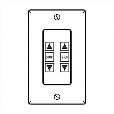 Access Multiview Control Color: White