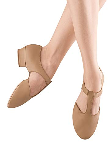 Bloch Dance Women's Grecian Sandal Dance Shoe, tan, 9.5 Medium US