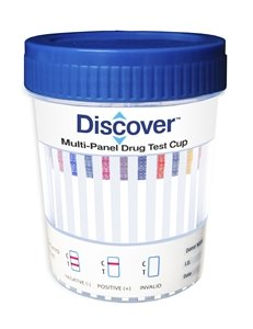 Discover-14-Panel-Cup-Case-Of-25-Drug-Test-COCTHCOPIBZOMETTCAOXYBUPBARMTDAMPMDMAPCPPPX