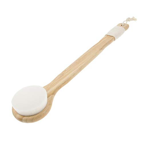 Long Handle Body Care Bath Massage Brush Handheld Shower Back Scrubber (Color - 03) ()