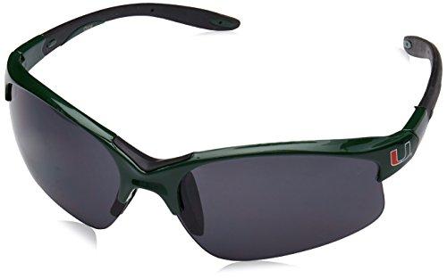 Siskiyou Miami Hurricanes NCAA Blade Sunglasses