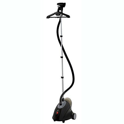 SALAV GS18-DJ/120 Black Garment Steamer with Adjust Hanger