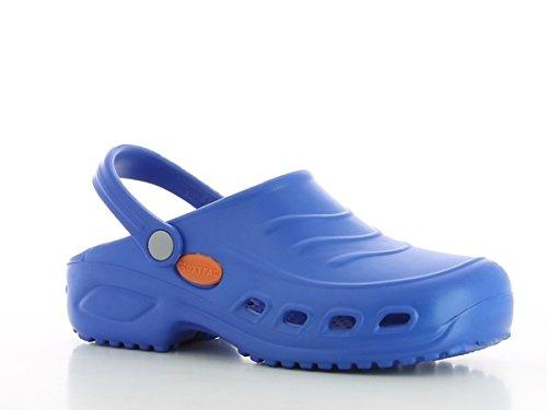 Shoes Antistatic Oxypas Washable vif Bleu Slip Navy 'Gravity' Clog Bleu resistant in Nursing wpXp0qZ