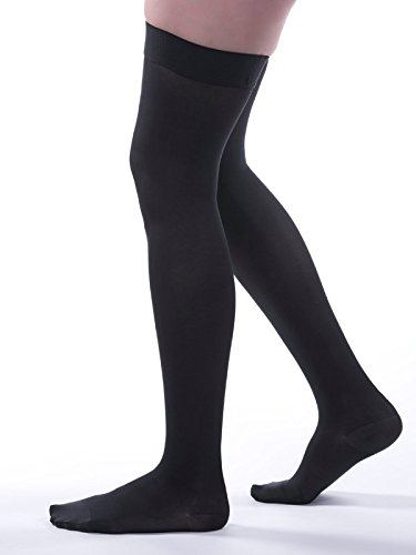 Allegro 15-20 mmHg Soft 260 Microfiber Thigh High Compression Hose
