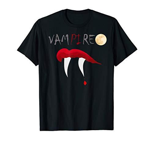 Scary Halloween Math Teacher Science Geek Vampire Pi Pun T-Shirt]()