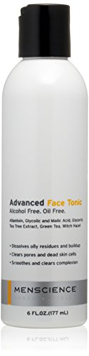 - MenScience Advanced Face Tonic, Alcohol Free and Oil Free, 177 ml (6 oz.)