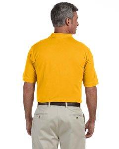 Harriton 6 Oz. Ringspun Cotton Pique Short-Sleeve Polo