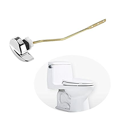 Auko Universal Side Mount Toilet flush Lever Handle for TOTO Kohler Toilet Tank Fits Most Toilets,8.3inch Rod