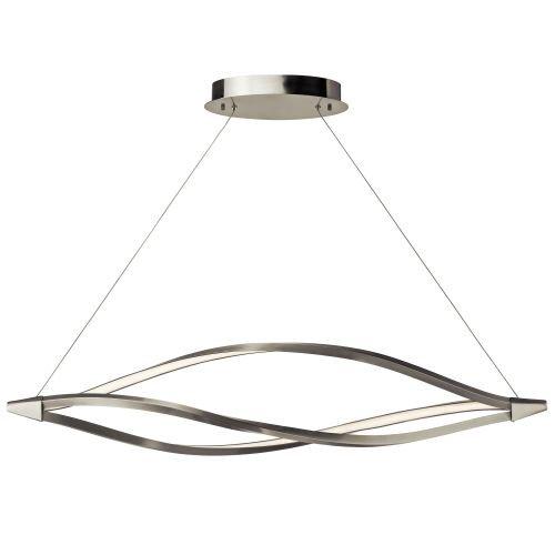 Elan 83390 Pendant Lighting, Brushed Nickel