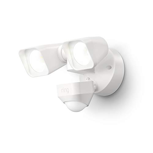 Introducing Ring Smart Lighting –  Floodlight, Wired – White