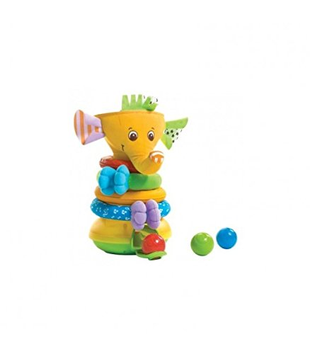 Tiny Love Musical Stack and Ball Game, Yellow (Infant Musical Ball)