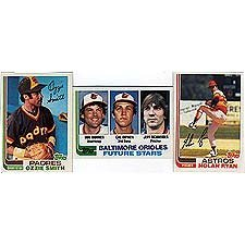 - 1982 Topps Baseball Complete Near Mint to Mint 792 Card Set