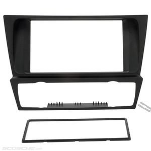 Scosche BW2372B Double DIN Dash Kit for Select 2006 and Up BMW Vehicles