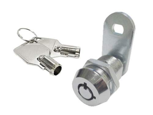 LOT of 2 Tubular Cam Lock 1 1/2'' Tool Box Cabinet Desks Boxes KEYED Alike