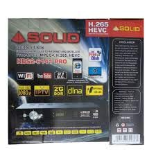 Solid Set Top Box HDS2 6141 Pro Digital