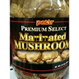 Polar Premium Select Marinated Mushrooms 35oz Jar (Pack of 2)