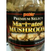 Polar Premium Select Marinated Mushrooms 35oz Jar (Pack of 2) by Polar Products