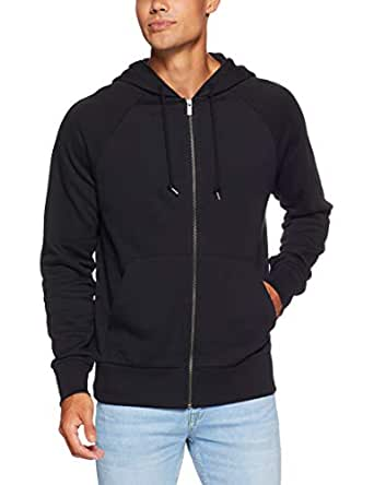 Bonds Men's Originals Zip Hoodie, Nu Black, X-Small