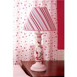 KIDS LINE CHERRY BLOSSOM LAMP BASE AND SHADE