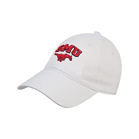 the best attitude 59155 2c66b hot southern methodist university bar hat efe0c 3c128  czech smu white  twill unstructured low profile hat smu w mustang f896a 1647b