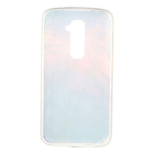 Para LG G2 (5,2 pulgadas) Cáscara ZeWoo® Carcasa y Funda de Silicona - YG013 / bicicleta de limón YG008