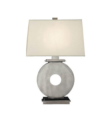 Robert Abbey 127 Lamps with Rectangular Pearl Dupioni Fabric Shades, Marble Accented Antique Silver with Black - Table Rectangular Robert Lamp Abbey