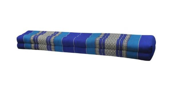 Wilai Cojín tailandés Barra, almohada, sofá, fabricado en Tailandia, azul (82211): Amazon.es: Hogar
