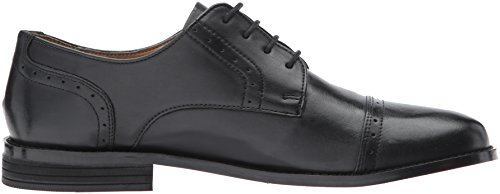 Nunn Bush Mens Sparta Cap Toe Oxford Black