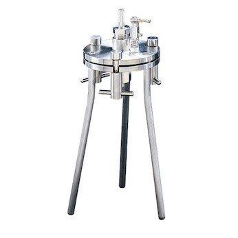 Advantec 301900 Pressure Filtration Holder for 142 mm Filter; 304 Stainless Steel