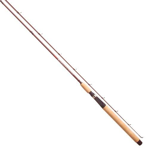 Tica KLEA76UL2S Kokanee Spinning Glass Fishing Rod (2-Piece), Brown, 7-Feet/6-Inch/Ultra-Light