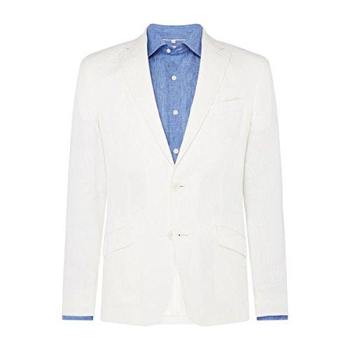 [ロチャードジェームスメイフェア] メンズ ジャケット&ブルゾン Linen Oliver Jacket [並行輸入品] B07F35X47C 42 Regular