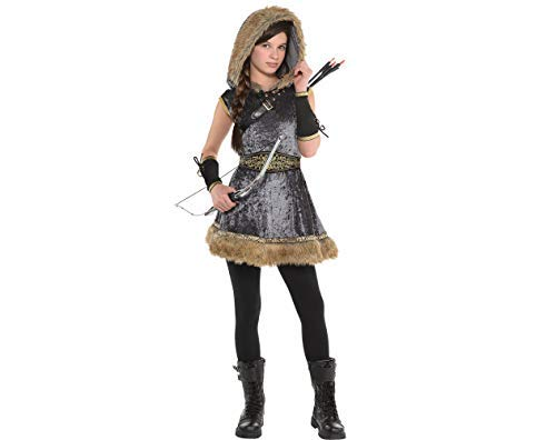 Amscan Girls Miss Archer Costume - X-Large (14-16), -