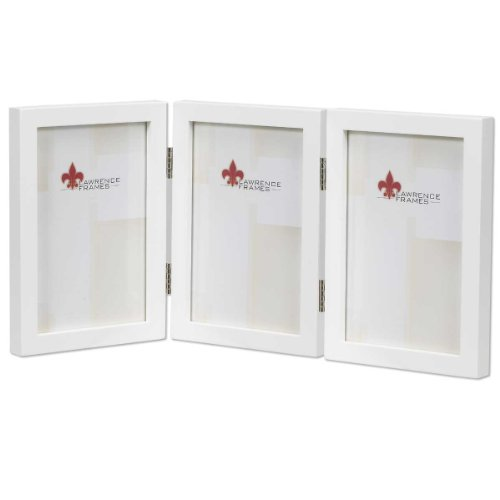 Lawrence Frames Gallery Hinged Triple Picture Frame