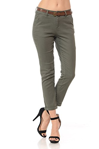 YourStyle Office Belted Bengaline Stretch