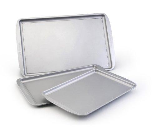 Farberware Nonstick Bakeware 3-Piece Cookie Pan Value Set