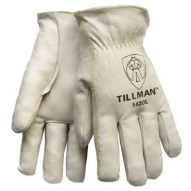 Leather Tillman™ 1420 Top Grain Cowhide Drivers Gloves - Medium