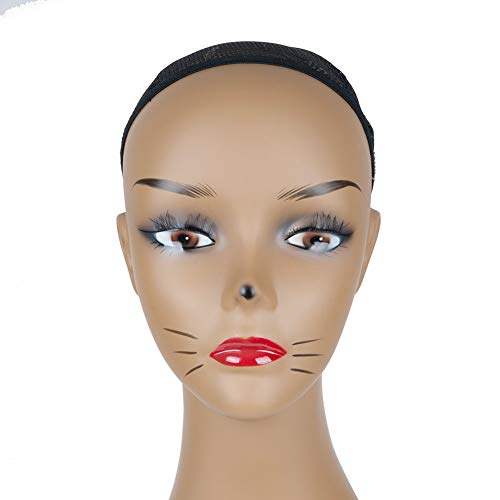 L7 Mannequin New Lovely Cat Make up Manikin Mannequin Head for Display Wig Hats Earrings Headphone ()