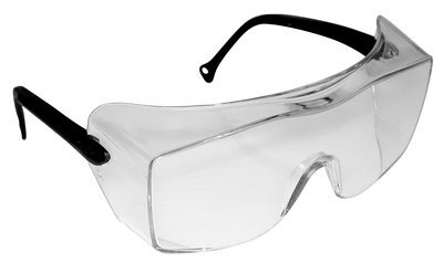 3M(TM) OX(TM) Protective Eyewear 2000, 12163-00000-20 Clear Anti-Fog Lens, Black Secure Grip Temple 20 ea/case