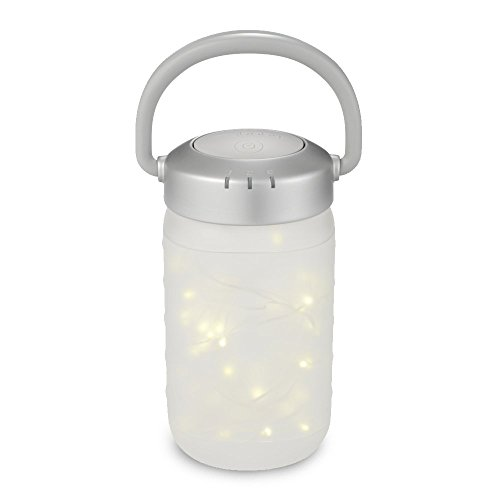 Walk-A-Bout Portable Nightlight Lantern | Bedside Light, Firefly Jar, Auto-Off Fairy Lamp | Fun Design, Soft Glow for Infants, Babies, Toddlers, and Children | MyBaby by myBaby
