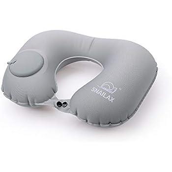 Amazon.com: 2 unidades cojín de cuello de viaje hinchable ...